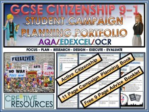 Citizenship GCSE 9-1 OCR Complete Exam & Assessment Analysis Package