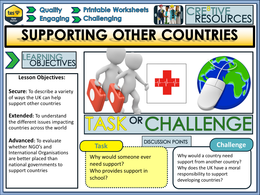 Cre8tive Resources - Citizenship Jumbo Lesson Pack 12 – CIT/C8B/LS/12